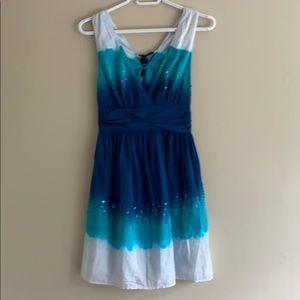 Guess Tye Dye Summer Cotton Dress
